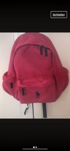 Ralph Lauren Zaino per la scuola blu scuro-rosa