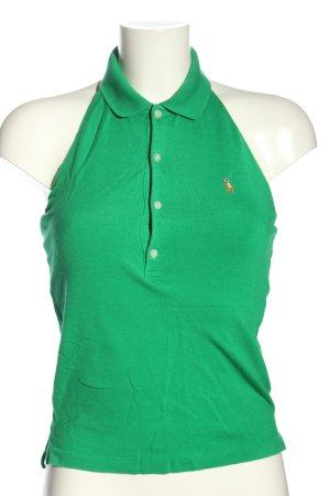Ralph Lauren Rugloze top groen casual uitstraling