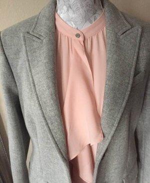 Ralph Lauren Bluzka z falbankami jasny różowy Poliester