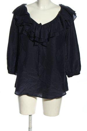 Ralph Lauren Rüschen-Bluse schwarz Casual-Look