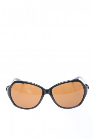 Ralph Lauren Oval Sunglasses black business style