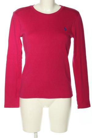 Ralph Lauren Rundhalspullover pink Casual-Look
