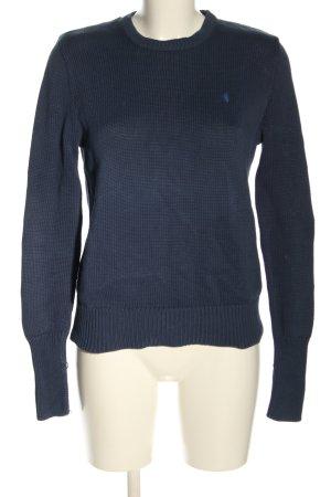 Ralph Lauren Rundhalspullover blau Casual-Look
