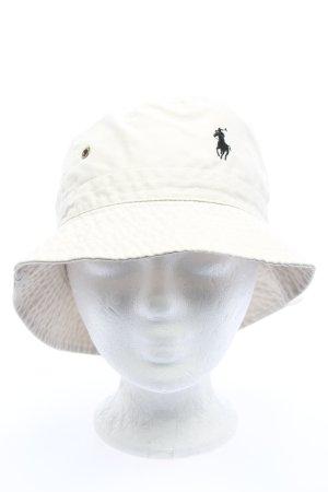 Ralph Lauren Cappello da safari bianco sporco stile casual