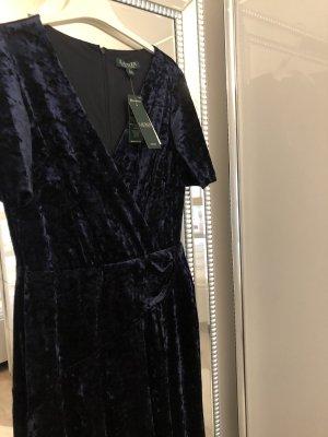Ralph Lauren Suknia wieczorowa ciemnoniebieski Aksamit