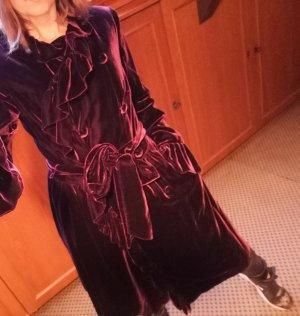 Lauren by Ralph Lauren Gabardina tipo vestido púrpura