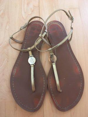Lauren by Ralph Lauren Dianette sandalen goud