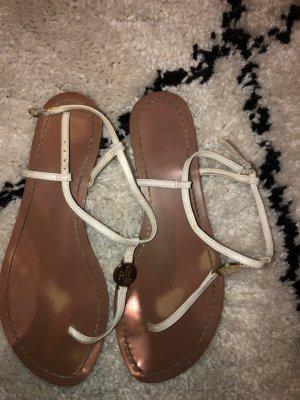 Lauren by Ralph Lauren Comfort Sandals camel-white