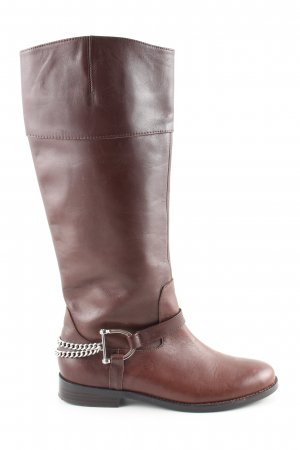 Ralph Lauren Schaftstiefel braun Business-Look