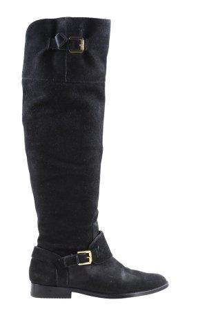 Ralph Lauren Botas estilo militar negro look casual