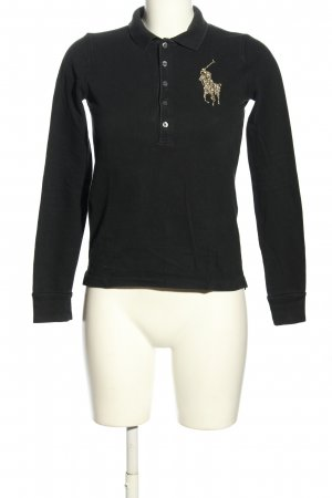 Ralph Lauren Camiseta tipo polo negro look casual
