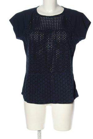 Ralph Lauren Schlupf-Bluse blau Casual-Look