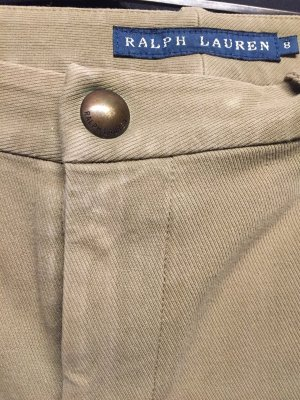 Ralph Lauren Pantalon d'équitation beige coton
