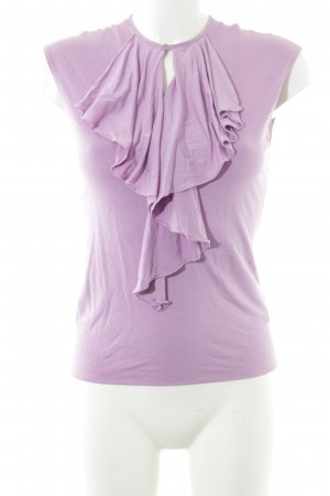 Ralph Lauren Wasserfallshirt rosa Business-Look Seide