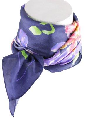 Ralph Lauren Foulard en soie motif de fleur élégant