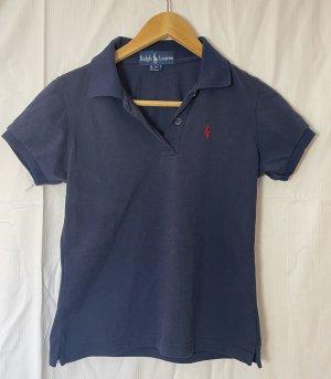 Polo Ralph Lauren Polo Top dark blue cotton