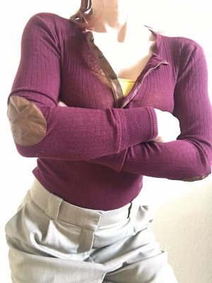 Ralph Lauren Shirt Bluse Top bardeaux S-M wolle Anteil
