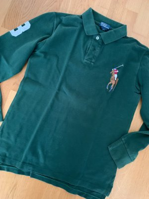 Ralph Lauren Shirt dunkelgrün TOP