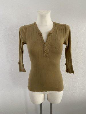 Ralph Lauren Shirt basique ocre-chameau