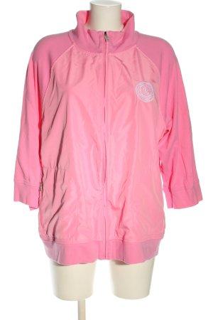 Ralph Lauren Veste chemise rose-blanc style décontracté