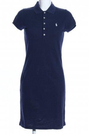 Ralph Lauren Shirtkleid blau Business-Look