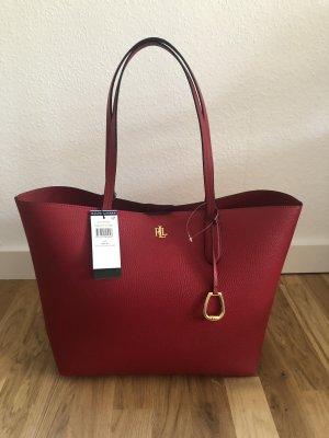 Ralph Lauren Borsa shopper rosso-rosso mattone