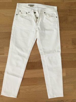 Ralph Lauren Skinny Crop WeissJeans Wie Neu
