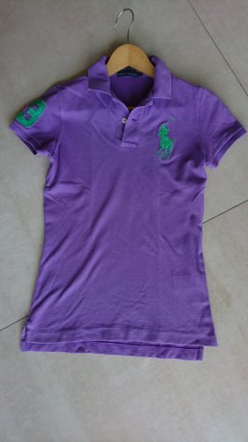 Ralph Lauren Polo shirt lila-groen