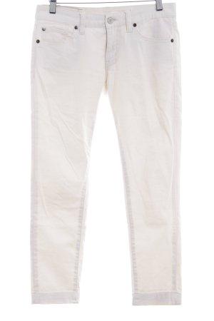 Ralph Lauren Skinny Jeans creme schlichter Stil