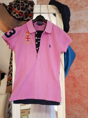 Polo Ralph Lauren Polo Top pink-dark blue