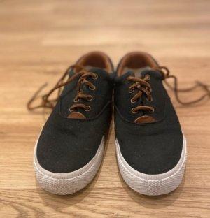 Ralph Lauren Sneaker mit Lederdetail