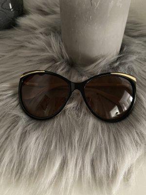 Ralph Lauren Okulary motylki czarny-złoto