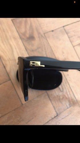 Ralph Lauren Okrągłe okulary przeciwsłoneczne czarny-złoto