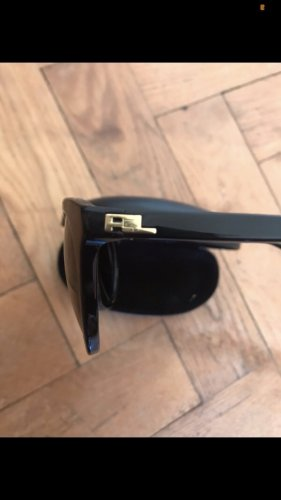 Ralph Lauren Gafas de sol redondas negro-color oro