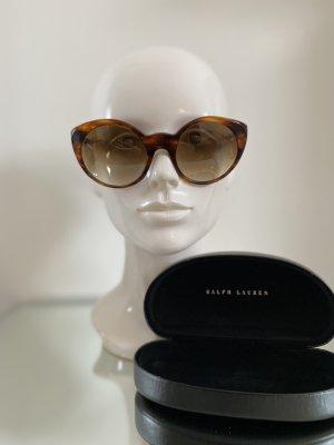 Ralph Lauren Okrągłe okulary przeciwsłoneczne cognac-brązowy