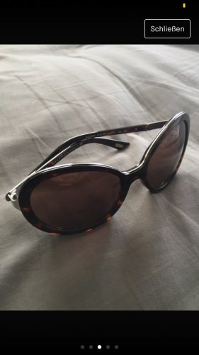 Ralph Lauren Oval Sunglasses black brown