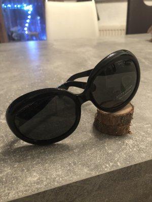 Ralph Lauren Lunettes de soleil ovales noir