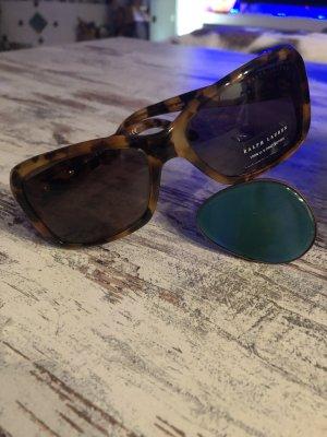 Ralph Lauren Sonnenbrille neu! Hell/dunkelbraun, KP 220€