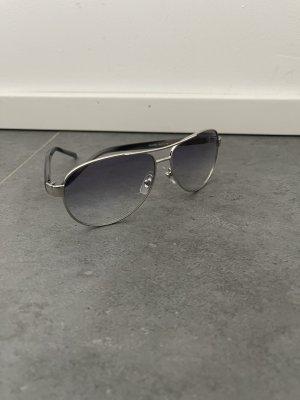Ralph Lauren Okulary pilotki srebrny-stalowy niebieski