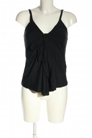 Ralph Lauren Top z cienkimi ramiączkami czarny W stylu casual