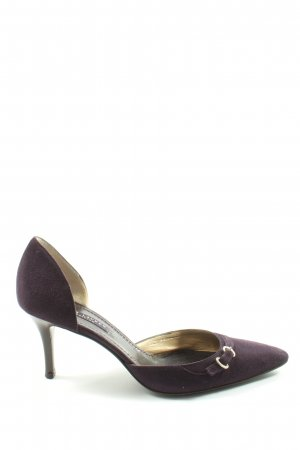 Ralph Lauren Pointed Toe Pumps lilac business style