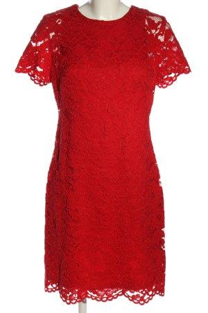 Ralph Lauren Spitzenkleid rot Elegant