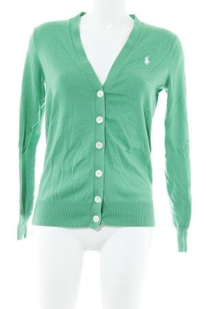 Ralph Lauren Sport Cardigan grün Casual-Look