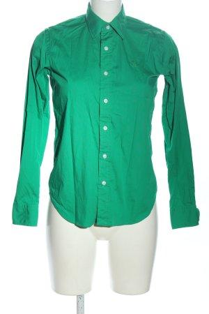 Ralph Lauren Sport Hemd-Bluse grün Business-Look