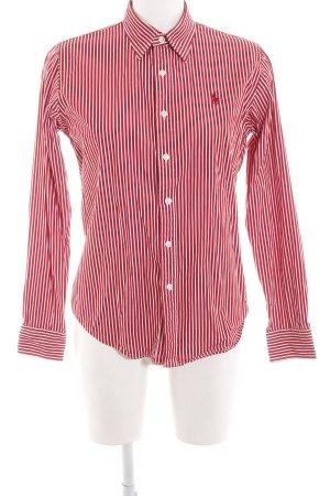 Ralph Lauren Sport Hemd-Bluse rot-weiß Motivdruck Business-Look