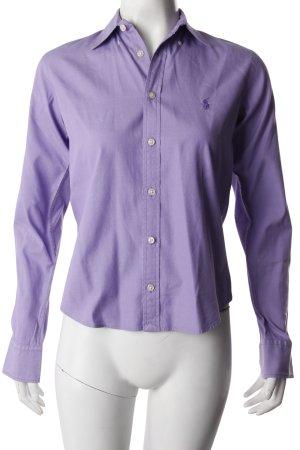 Ralph Lauren Sport Hemdbluse lila