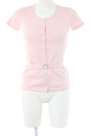 Ralph Lauren Sport Kurzarm-Bluse pink Business-Look