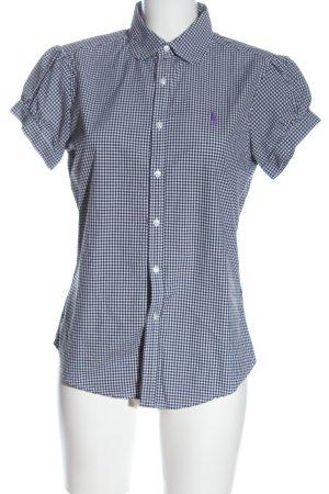 Ralph Lauren Sport Camisa de manga corta negro-blanco elegante