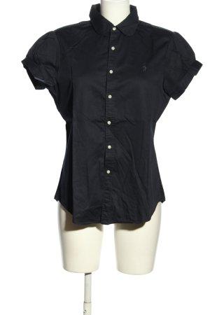 Ralph Lauren Sport Camisa de manga corta negro estilo «business»
