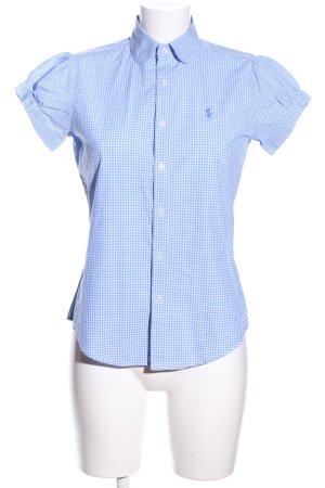 Ralph Lauren Sport Camicia a maniche corte blu-bianco motivo a quadri